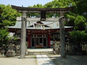 Hatamono Jinjya (the Hatamono Shrine)